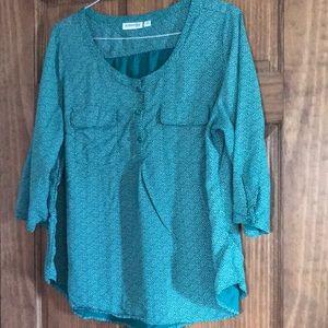 St. John's Bay blouse size 1X